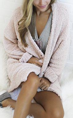 cozy up oversized sweater - blush