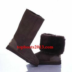 UGG Chocolate 5815 Classic Tall Boots Wholesale Online