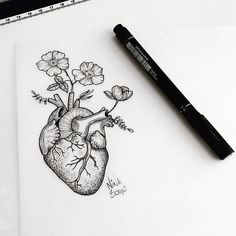 Ideas Drawing Pencil Doodles Pens For 2019 - pencil-drawings Kunst Tattoos, Tattoo Drawings, Body Art Tattoos, New Tattoos, Art Drawings, Pencil Art, Pencil Drawings, Posca Art, Anatomy Art