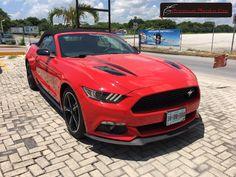 Ford Mustang GT / CS (California Special) Convertible 2016 color Rojo Racing