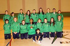 Medalla de oro en Sestao para los equipos infantiles femeninos de voleyball IMD Laredo