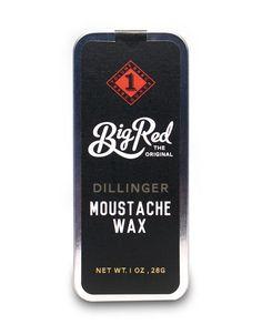 Big Red Moustache Wax -Dillinger