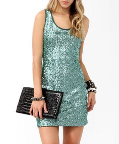 Sequined Bodycon Dress #partyperfect