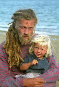 Dad's with dreads...