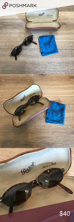 Vintage persol sunglasses As made famous by Meg Ryan and Julia Roberts back in the late 90's - great condition! Tortoise shell base Persol Accessories Sunglasses