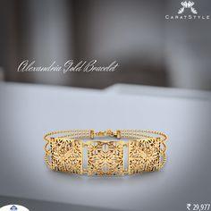 When in doubt, go for gold! Gold Bracelet For Women, Diamond Bracelets, Bangle Bracelets, Jewellery Designs, Gold Jewellery, Jewelery, Going For Gold, Glitz And Glam, Jewel Box