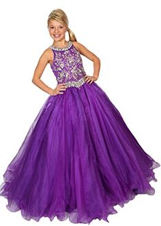 Y&T Princess Twinkling Crystals Pageant Dresses Girls' Ball Gowns 2/2T US Purple Y&T http://www.amazon.com/dp/B014OQJ1QY/ref=cm_sw_r_pi_dp_XcS-wb1Z84RNP