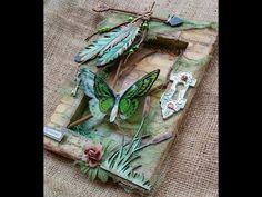 Dragonfly Mosaic Stencil Tutorial - YouTube