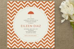 Art Deco Bridal Shower Invitations by chica design at Minted.com