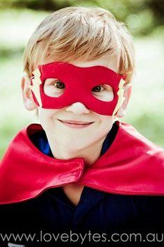 Super Hero Mask - Flash