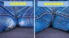 Trendy Sewing Hacks For Holes In Jeans Ideas Baby Knitting Patterns, Sewing Patterns Free, Free Sewing, Techniques Couture, Sewing Techniques, Sewing Clothes, Diy Clothes, Sewing Hacks, Sewing Tutorials