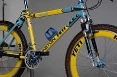Zoom in (real dimensions: 858 x Yeti Arc, Mountain Biking, Offroad, Cycling, Bicycle, Annex, Retro, Wheels, Action