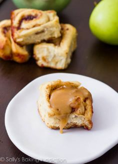 Caramel apple cinnamon buns!!!!