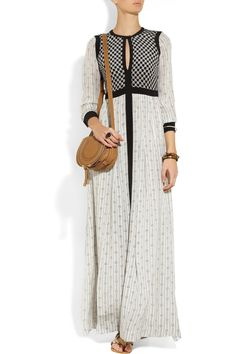 Isabel Marant | Melissande printed silk-crepe maxi dress
