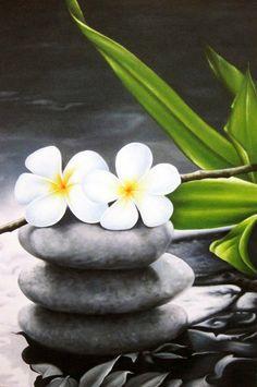 Image detail for -Zen Stones | Flower Art | Sentosa Arts