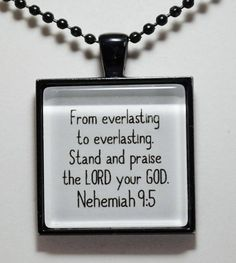 Psalm Scripture Pendant Necklace Angels Will Guard Me Christian Jewelry Sobriety Recovery AA NA CL Murphy Creative CLMurphyCreative Scripture Quotes, Bible Scriptures, Faith Quotes, Deuteronomy 31 6, Psalms, Psalm 91 11 12, Christian Jewelry, Praise The Lords, Spiritual Quotes