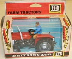 VINTAGE TOYS : MASSEY-FERGUSON TRACTOR MODEL MADE BY BRITAINS IN 1975 (DJ) in Britains | eBay