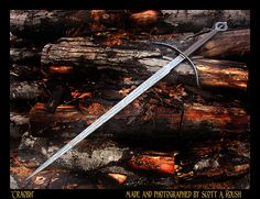 Next sword. a two-hander with Danish and Irish influence (SOLD) Irish Warrior, Swords And Daggers, Weapons, Danish, Warriors, Knives, Armour, Survival, Board