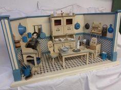 große Jugendstil Puppenküche in München - Obergiesing   Kunst und Antiquitäten gebraucht kaufen   eBay Kleinanzeigen