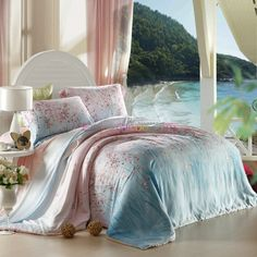 Soft Feeling Fresh Rustic Bedding Sets