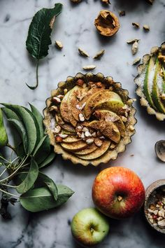 Our Food Stories  ||    GLUTENFREE APPLE PEAR PIES
