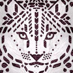 Scott Partridge - illustration - snow leopard