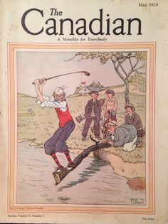 The Canadian Magazine May 1929 Golf Cover