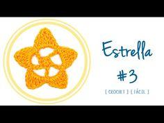 #Estrella 03 a #Crochet | #PatronesValhalla