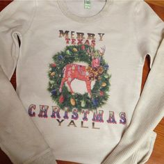 Bling a GoGo - Merry Texas Christmas Yall Alternative Cozy Thermal, $64.00 (http://www.bling-a-gogo.com/merry-texas-christmas-yall-alternative-cozy-thermal/) #cozy #warm #thermal #texas #tx #christmas #holiday #yall #merry #sweaterweather #coldweather