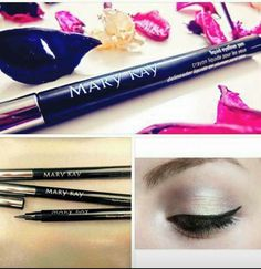 Say hello to our new liquid liner pen! This liner pen is AMAZING Simple Eyeliner, How To Apply Eyeliner, Eyeliner Shapes, Eyeliner Pencil, Selling Mary Kay, Mary Kay Party, Mary Kay Ash, Eyeliner For Beginners, Mary Kay Cosmetics