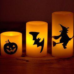 Alturas de 5cm , 7.5cm and 10cm Verdadera cera naranja Cada vela necesita una batería tipo CR2032 (incluida)