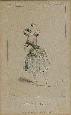 Melle Carlotta Grisi dans Paquita. 1er acte