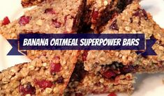 Free of the top eight allergens these superpower bars are great for breakfast on-the-go or after school snacks.