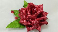 Diy satin ribbon rose satin ribbon flower tutorial how to kanzashi – Artofit Cloth Flowers, Burlap Flowers, Diy Flowers, Crochet Flowers, Fabric Flowers, Paper Flowers, Ribbon Art, Diy Ribbon, Ribbon Crafts
