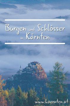 Klagenfurt, Homeland, Austria, Mountains, Nature, Travel, Castles, Waterfall, Road Trip Destinations