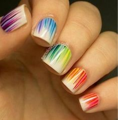Really, So cute nails! I wish i could do this!! Looks like it could be done in a salon, Just show them the pic! Hope this helped!