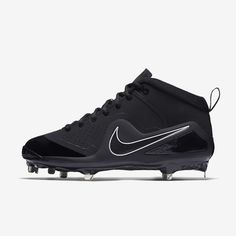 sports shoes 42256 6b2ee Nike Force Zoom Trout 4 Men s Baseball Cleat - 9 Metal Cleats, Metal  Baseball Cleats