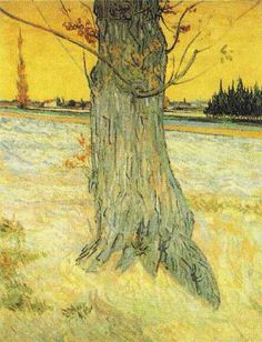 Vincent van Gogh: The Paintings (Trunk of an Old Yew Tree)