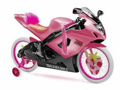 Image Detail for - Digimon and Twilight Crossover :: Pink Motorcycle (Your) picture by . Pink Motorcycle, Funny Motorcycle, Motorcycle Outfit, Bike With Training Wheels, Hello Kitty Jewelry, Pink Bike, Motivational Pictures, These Girls, Digimon