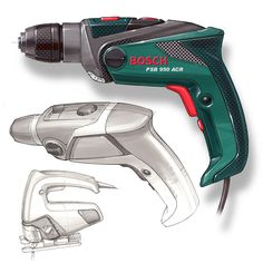 Ergonomic Products, Cad Cam, Industrial Design Sketch, Electrical Tools, Car Sketch, Tool Design, Marker, Drill, Sketches
