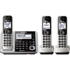 Panasonic KXTGF373S Dect 3-Handset Landline Telephone