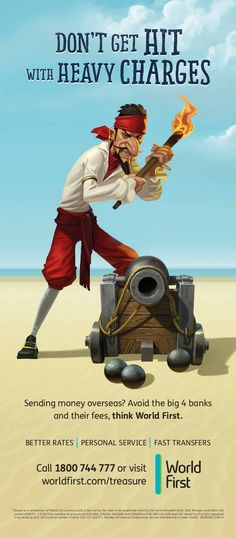 We created these scruffy pirate characters for amarketing campaign for Worlds first bank and MercerBell in Australia Character Drawing, Game Character, Character Concept, Character Design, Pirate Games, Pirate Art, Cartoon Drawings, Cool Drawings, Pirate Illustration