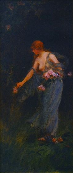 The Athenaeum - In the Garden (Charles Courtney Curran - ):