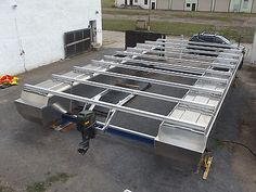 Houseboat, aluminum power catamaran, pontoon boat, party raft, floating body Source by wojtekpozorsk Pontoon Dock, Pontoon Boat Party, Pontoon Houseboat, Houseboat Living, Houseboat Ideas, Pontoon Boats, Party Raft, Hull Boat, Power Catamaran
