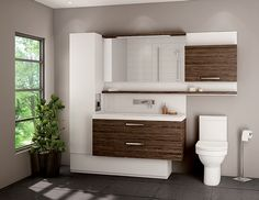 The Duo Vanity is available at Preston Bathroom + Kitchen Design Centre in Ottawa. Contact or come see us today to learn more. Bathroom Renos, Basement Bathroom, Bathroom Renovations, Washroom, Linen Cabinet, Kids Bath, Bath Vanities, Bath Design, Modern Bathroom