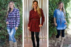 Popular Must Have Tunics    These popular tunics are an essential must have in every closet!  Starting at  $19.99 ($42.99)  54% OFF