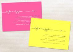wedding stationery by Minted. so cute!