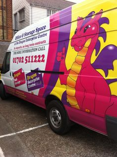 Van for removals and storage!