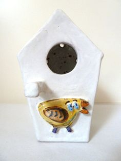Bird House. Casetta per uccellini. di LabLiu su Etsy, €30.00