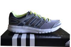 Adidas Duramo 6 Women's Running Trainers Iron Grey/Flash Yellow B39763